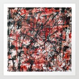Imogene in Red Art Print
