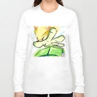 kindle Long Sleeve T-shirts featuring Light in Doomsday by garciarts