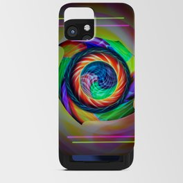 Abstract in perfection 121 iPhone Card Case