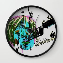 Rimbaud-Morality is the weakness of the mind-  Wall Clock