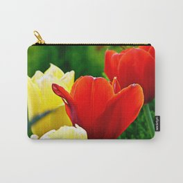 Tulips From the Square Carry-All Pouch