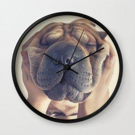 Beautiful Shar pei  Wall Clock