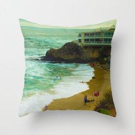 LaGuNa Beach Ca Throw Pillow