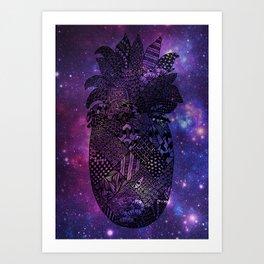 Space Pineapple Art Print