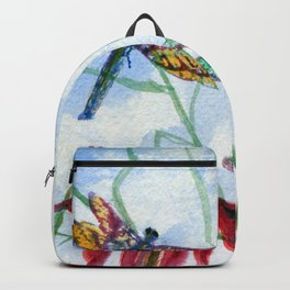 Dragonfly Party by Maureen Donovan Backpack