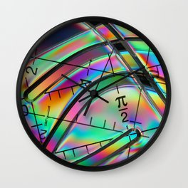 In Polarized Lighting Wall Clock