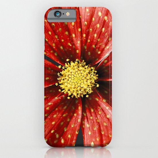 Strawberry Plant iPhone & iPod Case