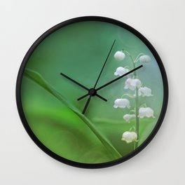 lily of the valley... Wall Clock