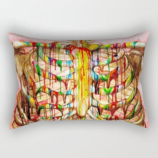 Dripping Bone Rectangular Pillow