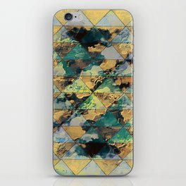dreamy triangle iPhone Skin