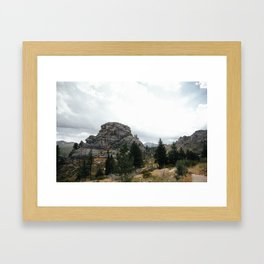 Walker Ranch Framed Art Print
