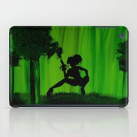 astrology iPad Cases featuring The Astrology  sign Sagittarius by Krista May