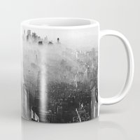 vampire weekend Mugs featuring Hannah Hunt - Vampire Weekend by HUDSON DESIGNS