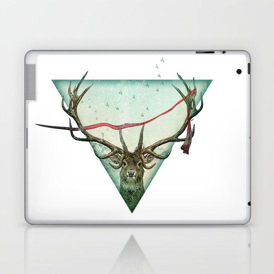 scarlet runner Laptop & iPad Skin