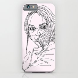 Lily-Rose Depp iPhone Case