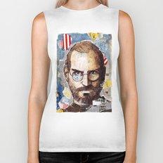 Steve Jobs Biker Tank