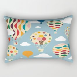 hot air ballon Rectangular Pillow