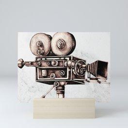Mitchell 35mm Camera Mini Art Print