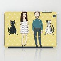 family iPad Cases featuring Family by Marta Li