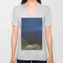 Starry Night - Pure Nature Unisex V-Neck