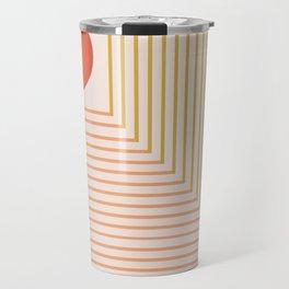 Lines & Circle 02 Travel Mug