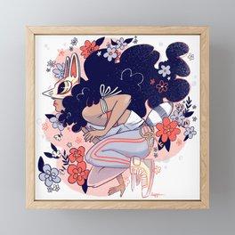 Fox Ma Framed Mini Art Print