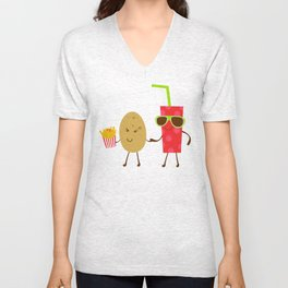 Potato and Coke Unisex V-Neck