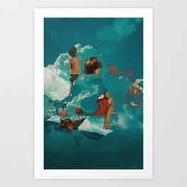 Kidcloud I Art Print