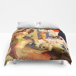 Giant bird attacks! Comforters