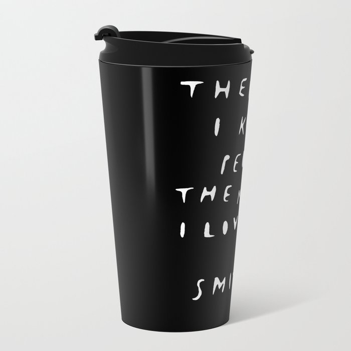 THE SMITHS Metal Travel Mug