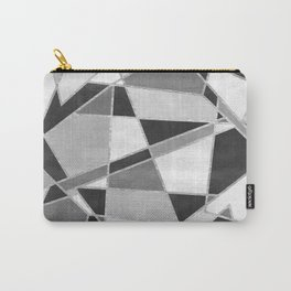 Abstract Color Block Watercolor Mosaic Carry-All Pouch