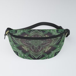 Plant Psychedelic Arts - Patterns - Green Plants - Plant Medicine Fanny Pack