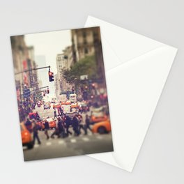 Down the Avenue Stationery Cards