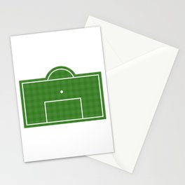 Football Penalty Area Stationery Cards