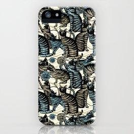 cat play iPhone Case