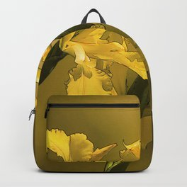 Golden Yellow Daffodils Backpack