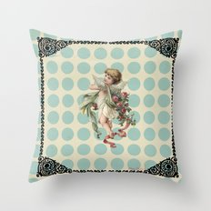 Sweet angel Throw Pillow