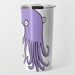 Purple Octopus Travel Mug
