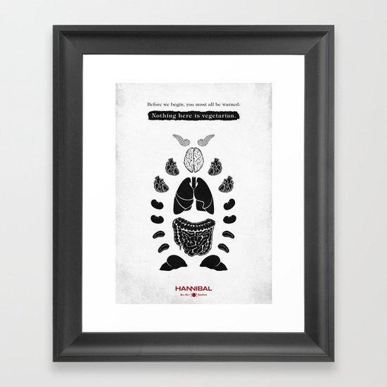 Hannibal - Sorbet Framed Art Print