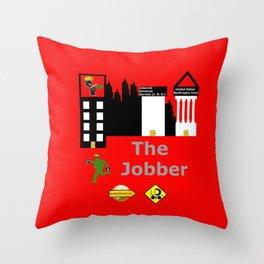 The Jobber Throw Pillow