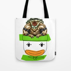 King Koopa & His Clown Car Tote Bag
