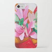 valentines iPhone & iPod Cases featuring Valentines Bouquet by marlene holdsworth