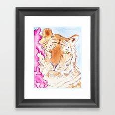 Tiger #1 Framed Art Print