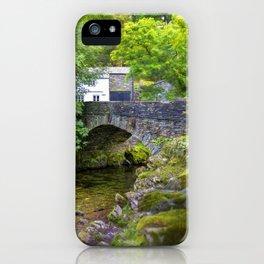 Ambleside Stone Bridge iPhone Case