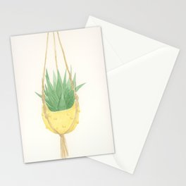 Macrame Succulent Stationery Cards