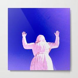Desert Christ Park, Joshua Tree, CA — LSD Christ Metal Print