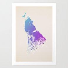 The Beginning Art Print