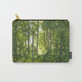 Beautiful Morning Summer Greenery #decor #society6 #buyart Carry-All Pouch