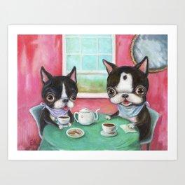 The Boston Tea Party Art Print