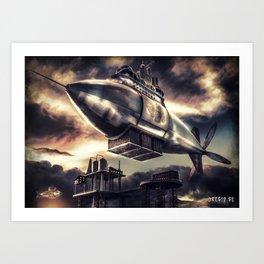 Poster - Airship Art Print